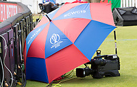 Sun protection for the cameras during Pakistan vs Bangladesh, ICC World Cup Cricket at Lord's Cricket Ground on 5th July 2019
