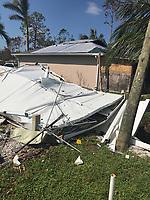 2017 FPL Hurricane Irma damage in Marco Island, Fla. on September 17, 2017.