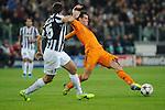 IM Torino 05-11-2013 Juventus Stadium<br /> Champions League 2013/2014<br /> Juventus Vs Real Madrid<br /> nella foto Bale-Barzagli<br /> foto Marco Iorio