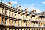 The King's Circus architect John Wood the Elder and Younger built between 1754 and 1768, Bath, Somerset, England, UK