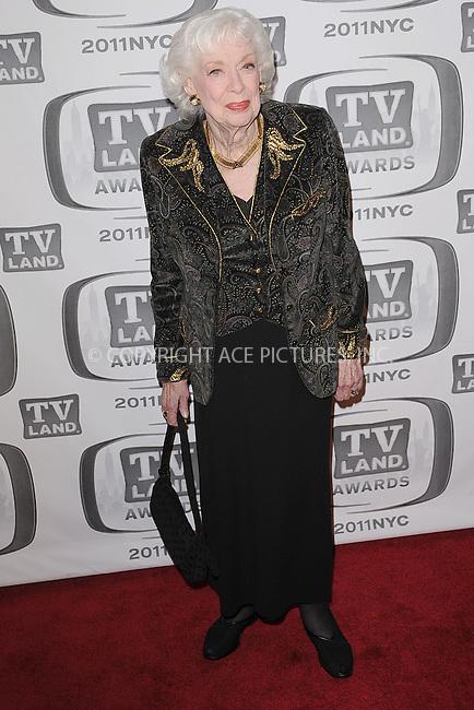 WWW.ACEPIXS.COM . . . . . .April 10, 2011...New York City... Joyce Randolph attends the 9th Annual TV Land Awards at the Javits Center on April 10, 2011 in New York City.....Please byline: KRISTIN CALLAHAN - ACEPIXS.COM.. . . . . . ..Ace Pictures, Inc: ..tel: (212) 243 8787 or (646) 769 0430..e-mail: info@acepixs.com..web: http://www.acepixs.com .