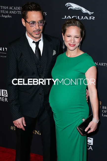 BEVERLY HILLS, CA, USA - OCTOBER 30: Robert Downey Jr., Susan Downey arrive at the 2014 BAFTA Los Angeles Jaguar Britannia Awards Presented By BBC America And United Airlines held at The Beverly Hilton Hotel on October 30, 2014 in Beverly Hills, California, United States. (Photo by Xavier Collin/Celebrity Monitor)
