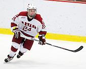 Luke Greiner (Harvard - 24) - The Boston College Eagles defeated the Harvard University Crimson 3-2 on Wednesday, December 9, 2009, at Bright Hockey Center in Cambridge, Massachusetts.