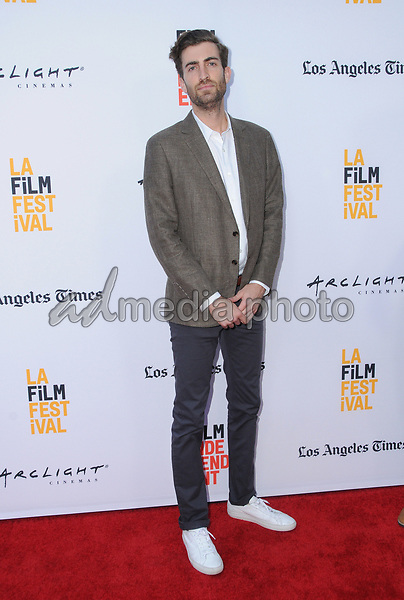 "16 June 2017 - Hollywood, California - Dave McCary. LA Film Festival screening of ""Brigsby Bear"" held at ArcLight Hollywood in Hollywood. Photo Credit: Birdie Thompson/AdMedia"