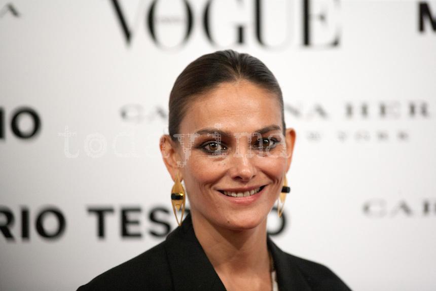 Laura Ponte at Vogue December Issue Mario Testino Party