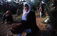 CONFINE KOSOV0 - MONTENEGRO AGOSTO 1998.CRISI UMANITARIA DELLA REGIONE MONTAGNOSA DEL DUKAJIN..A CAUSA DEI COMBATTIMENTI TRA UCK E FORZE ARMATE JUGOSLAVE UN ENORME NUMERO DI PROFUGHI HA RAGGIUNTO LE CIME DELLE MONTAGNE E VIVE IN TERRIBILI CONDIZIONI IGIENICHE SENZA ALCUN AIUTO UMANIATARIO..FOTO LIVIO SENIGALLIESI..DUKAJIN / KOSOVO - MONTENEGRO BORDER - AUGUST 1998.ETHNIC ALBANIANS FLED FROM THEIR HOUSE BECOUSE OF INTENSE OFFENSIVE OF JUGOSLAV ARMY AGAINST MEMBERS OF KLA (UCK). THOUSANDS OF WOMEN AND CHILDREN LIVED ON THE TOP OF THE MOUNTAINS WITHOUT FOOD AND WATER AND TOTALLY IGNORED BY HUMANITARIAN AGENCIES..PHOTO LIVIO SENIGALLIESI