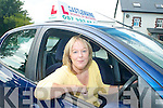 ON THE ROAD: Alison Winfield from Castlemaine who has just set up the Castlemaine School of Motoring for learner drivers in the mid-Kerry area.   Copyright Kerry's Eye 2008