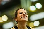 18.02.2018,  Helmut-K&ouml;rnig-Halle, Dortmund, GER, Deutsche Leichtathletik Meisterschaften Dortmund 2018, <br /> <br /> im Bild | picture shows:<br /> Nadine Gonska (MTG Mannheim) gewinnt das Finale der 400m der Frauen, <br /> <br /> Foto &copy; nordphoto / Rauch