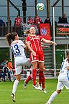 12.08.2017, Sportplatz, Hawangen, GER, FSP, Bayern M&uuml;nchen vs FC Z&uuml;rich Frauen, im Bild Cinzia Zehnder (Zuerich #13), Fridolina Rolf&ouml; / Rolfoe (Muenchen #14)<br /> <br /> Foto &copy; nordphoto / Hafner