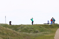 Tiarnan McLarnon (Massereene) on the 4th tee during Round 1 of the The Amateur Championship 2019 at The Island Golf Club, Co. Dublin on Monday 17th June 2019.<br /> Picture:  Thos Caffrey / Golffile<br /> <br /> All photo usage must carry mandatory copyright credit (© Golffile | Thos Caffrey)