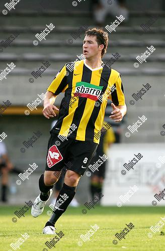 2009-07-23 / Seizoen 2009-2010 / Voetbal / Zwarte Leeuw / Sven Schoenmaekers..Foto: Maarten Straetemans (SMB)
