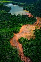 Parauapebas_PA, Brasil..Desmatamento causado por mineradora na floresta amazonica- Floresta Nacional de Carajas- Para..Deforestation caused by mining in the Amazon forest, National Forest of Carajas- Para..Foto: JOAO MARCOS ROSA / NITRO