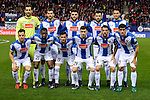 RCD Espanyol players during match of La Liga between Atletico de Madrid and RCD Espanyol at Vicente Calderon Stadium in Madrid, Spain. December 03, 2016. (ALTERPHOTOS/BorjaB.Hojas)