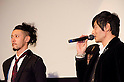 "December, 19th : Tokyo, Japan – Joe Odagiri (L) and Jang Dong-gu (R) appear at a press conference for the film ""MY WAY"" in the Shinjuku WALD9 CINEMA. This story is based on a true story during the World War Ⅱ. This film will be released from January 14th. (Photo by Yumeto Yamazaki/AFLO)."