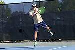23 April 2015: Kenneth Sabacinski. The Notre Dame University Fighting Irish played the Georgia Tech University Ramblin' Wreck at the Cary Tennis Park in Cary, North Carolina in a 2015 NCAA Division I Men's Tennis and Atlantic Coast Conference Tournament First Round match. Georgia Tech won the match 4-0.