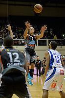 Paora Winitana in action during the NBL Final - Hawks v Saints at TSB Bank Arena, Wellington, New Zealand on Saturday 5 July 2014. <br /> Photo by Masanori Udagawa. <br /> www.photowellington.photoshelter.com.