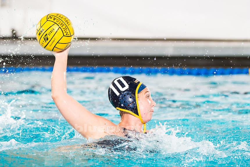 The University of Michigan water polo team defeats San Diego State University, 12-9, at Canham Natatorium in Ann Arbor, MI on January 30, 2016.