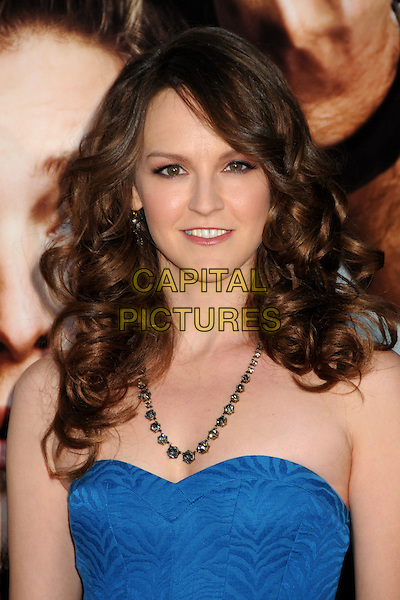 "CARLA GALLO.""Get Him To The Greek"" Los Angeles Premiere held at The Greek Theatre, Los Angeles, California, USA..May 25th, 2010.headshot portrait blue strapless necklace .CAP/ADM/BP.©Byron Purvis/AdMedia/Capital Pictures."