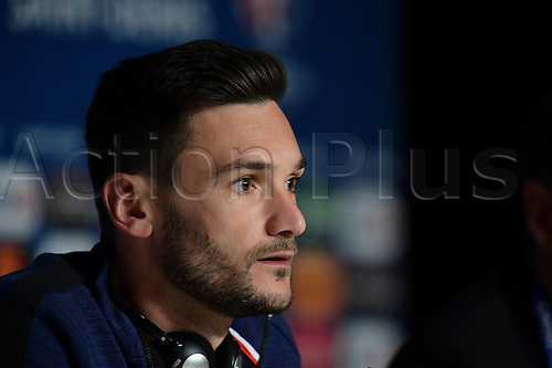 02.07.2016. St Denis, Paris, France. 2016 Euros, France team press confernce ahead of their quarterfinal math against Iceland on 3rd July.  Hugo Lloris (France)