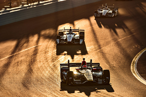 1-2 April, 2016, Avondale, Arizona USA<br /> 5 James Hinchcliffe, 3 Helio Castroneves<br /> ©2016, Scott R LePage <br /> LAT Photo USA