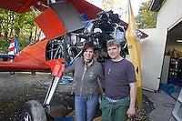Stearman biplane, Old Rhinebeck aerodrome, Rhinebeck, NY
