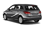 Car pictures of rear three quarter view of 2016 Mercedes Benz B-Class Inspiration 5 Door Mini MPV Angular Rear