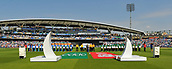 June 18th 2017, The Kia Oval, London, England;  ICC Champions Trophy Cricket Final; India versus Pakistan; Teams and spectators observe a minutes silence