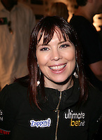 ANNIE DUKE.The Ante Up for Africa Celebrity Poker Tournament at the Rio Resort Hotel and Casino, Las Vegas, Nevada, USA..July 2nd, 2009.headshot portrait black top tongue .CAP/ADM/MJT.© MJT/AdMedia/Capital Pictures