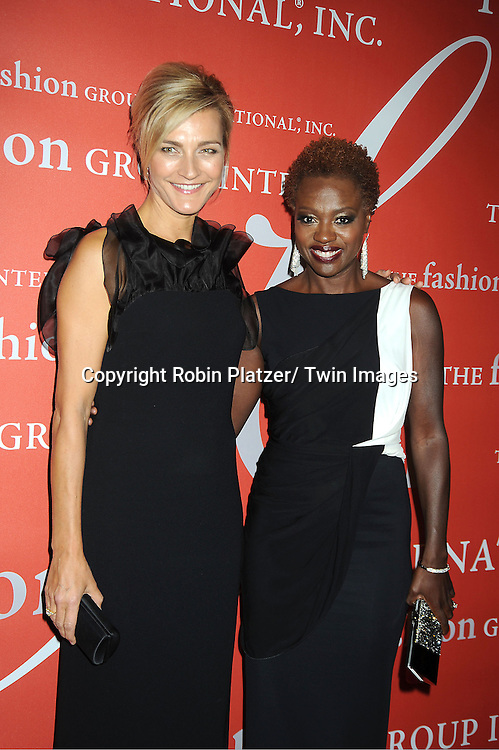Nicola Maramotti and Viola Davis attends the Fashion Group International's 29th Annual  Night of Stars Gala on October 25, 2012 at Cipriani Wall Street in New York City.