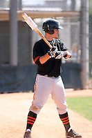 Tommy Joseph, San Francisco Giants minor league spring training..Photo by:  Bill Mitchell/Four Seam Images.