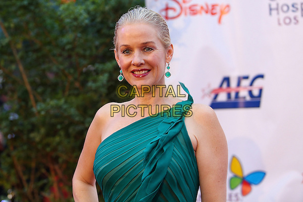 Penelope Ann Miller.Children's Hospital Los Angeles Gala: Noche de Ninos, Los Angeles, California, USA, 20th October 2012..portrait headshot green one shoulder earrings .CAP/ADM/PH.©Paul A. Hebert/AdMedia/Capital Pictures.