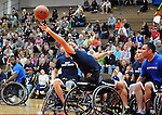 May 20, 2011 Colorado Springs, CO.  Wheelchair basketball action during the 2011 Warrior Games  at the U.S. U.S. Olympic Training Center, Colorado Springs, CO...