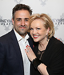 Eric Santagata and Susan Stroman attends the Opening Night Performance of 'The Beast In The Jungle' at The Vineyard Theatre on May 23, 2018 in New York City.