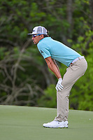 Rafael Cabrera Bello (ESP) looks over his long putt on 7 during round 1 of the AT&amp;T Byron Nelson, Trinity Forest Golf Club, Dallas, Texas, USA. 5/9/2019.<br /> Picture: Golffile | Ken Murray<br /> <br /> <br /> All photo usage must carry mandatory copyright credit (&copy; Golffile | Ken Murray)