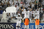 Al Sadd vs Suwon Samsung Bluewings during the 2011 AFC Champions League Semi Finals 2nd Leg match on October 26, 2011 at the Jassim Bin Hamad Stadium in Doha, Qatar. Photo by Adnan Hajj / World Sport Group