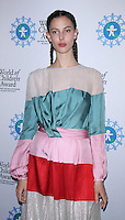 NEW YORK, NY-October 27: Ruby Aldridge at  World of Children Awards 2016 at  583 Park Avenue in New York.October 27, 2016. Credit:RW/MediaPunch