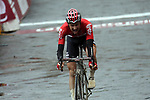Tim Wellens (BEL) Lotto-Soudal approach the finish line in 3rd places at the end of the 2017 Strade Bianche running 175km from Siena to Siena, Tuscany, Italy 4th March 2017.<br /> Picture: Sabine Zwicky/Radsport.ch | Newsfile<br /> <br /> <br /> All photos usage must carry mandatory copyright credit (&copy; Newsfile | Sabine Zwicky/Radsport.ch)