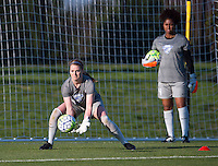 Boyds, MD - April 16, 2016: Boston Breakers goalkeeper Libby Stout (1). The Washington Spirit defeated the Boston Breakers 1-0 during their National Women's Soccer League (NWSL) match at the Maryland SoccerPlex.
