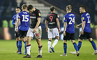 Bolton Wanderers' Yanic Wildschut shows his despair at the end of the match<br /> <br /> Photographer Andrew Kearns/CameraSport<br /> <br /> The EFL Sky Bet Championship - Sheffield Wednesday v Bolton Wanderers - Tuesday 27th November 2018 - Hillsborough - Sheffield<br /> <br /> World Copyright © 2018 CameraSport. All rights reserved. 43 Linden Ave. Countesthorpe. Leicester. England. LE8 5PG - Tel: +44 (0) 116 277 4147 - admin@camerasport.com - www.camerasport.com