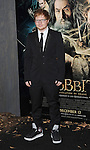 """Ed Sheeran at the Los Angeles premiere of """"The Hobbit: The Desolation Of Smaug"""" held at the Dolby Theater December 2, 2013."""
