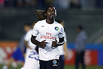 28 September 2016: New York's Lucky Mkosana (ZIM). The Carolina RailHawks hosted the New York Cosmos at WakeMed Soccer Park in Cary, North Carolina in a 2016 North American Soccer League Fall Season match. The Cosmos won the game 2-0.