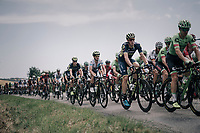 Team Orica-Scott in the peloton<br /> <br /> 104th Tour de France 2017<br /> Stage 6 - Vesoul › Troyes (216km)