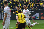 11.05.2019, Signal Iduna Park, Dortmund, GER, DFL, 1. BL, Borussia Dortmund vs Fortuna Duesseldorf, DFL regulations prohibit any use of photographs as image sequences and/or quasi-video<br /> <br /> im Bild Christian Pulisic (#22, Borussia Dortmund) jubelt nach seinem Tor zum 1:0 mit Thomas Delaney (#6, Borussia Dortmund) <br /> <br /> Foto &copy; nordphoto/Mauelshagen