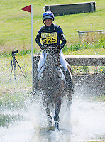 Zara Phillips who announces pregnancy competes in horse trials - UK