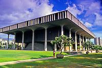 Hawaii State Capitol in downtown Honolulu