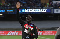 Kalidou Koulibaly of Napoli withdraws for the Best Serie A defender award<br /> Napoli 19-05-2019 Stadio San Paolo, <br /> Football Serie A 2018/2019 Napoli - Inter <br /> Foto Cesare Purini / Insidefoto