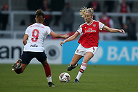 Leah Williamson of Arsenal during Arsenal Women vs Liverpool Women, Barclays FA Women's Super League Football at Meadow Park on 24th November 2019