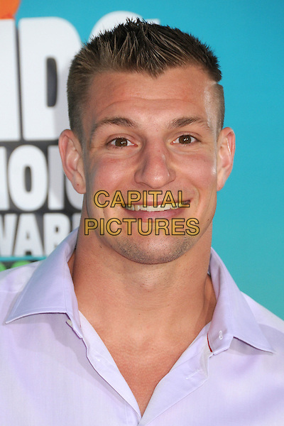 12 March 2016 - Inglewood, California - Rob Gronkowski. 2016 Nickelodeon Kids' Choice Awards held at The Forum.  <br /> CAP/ADM/BP<br /> &copy;BP/ADM/Capital Pictures
