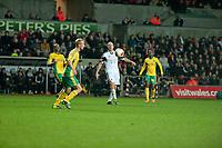 Thursday 24 October 2013  <br /> Pictured: Jonjo Shelvey <br /> Re:UEFA Europa League, Swansea City FC vs Kuban Krasnodar,  at the Liberty Staduim Swansea