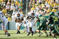 2 September 2006: Toby Gerhart (7), Ismail Simpson (79) during Stanford's 48-10 loss to the Oregon Ducks at Autzen Stadium in Eugene, OR.